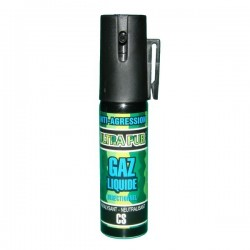 Bombe lacrymogène 25ml GAZ liquide